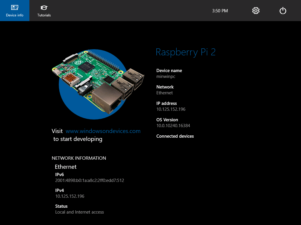 Raspberry pi 3 windows 10 image download