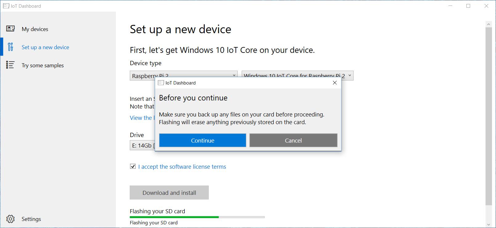 Raspberry pi 2 windows 10 download